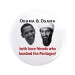 "Terrorist Friends 3.5"" Button (100 pack)"