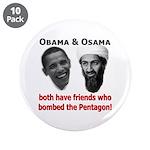 "Terrorist Friends 3.5"" Button (10 pack)"