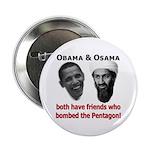 "Terrorist Friends 2.25"" Button (10 pack)"