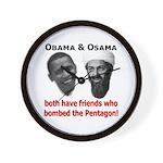Terrorist Friends Wall Clock