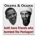 Terrorist Friends Tile Coaster