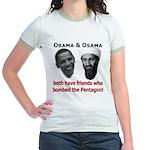 Terrorist Friends Jr. Ringer T-Shirt
