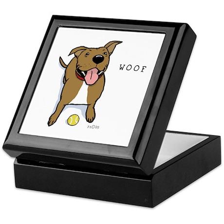 Woof Dog Keepsake Box