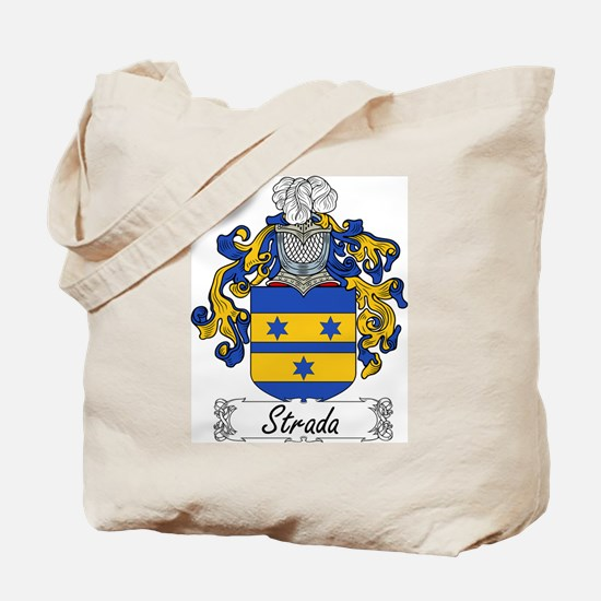 Strada Family Crest Tote Bag