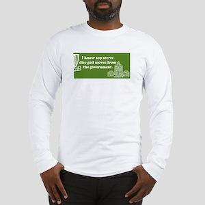 Top Secret Moves Long Sleeve T-Shirt (white)