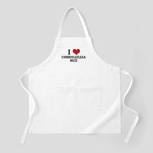 I Love Condoleezza Rice BBQ Apron