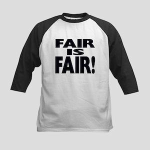FAIR is FAIR! Kids Baseball Jersey