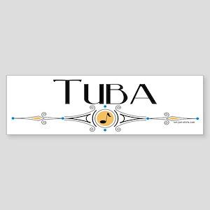 Tuba Bumper Sticker