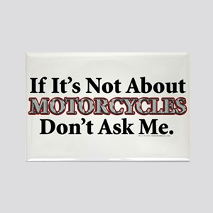 Motorcycles Rectangle Magnet