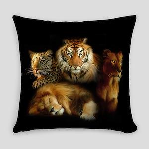 Wild Predators Everyday Pillow