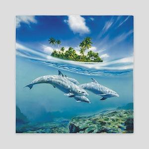 Tropical Island Fantasy Queen Duvet