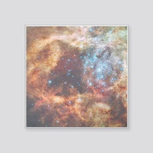 "Tarantula Nebula Square Sticker 3"" x 3"""