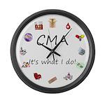 CMA Large Wall Clock