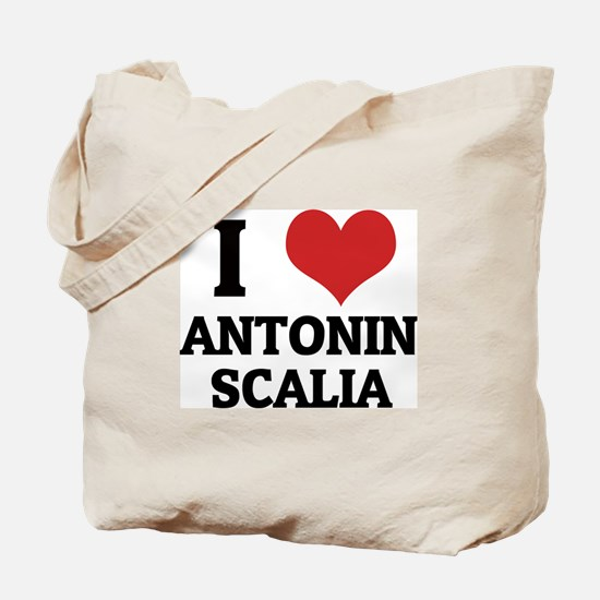 I Love Antonin Scalia Tote Bag