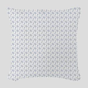 Nautical Pattern Woven Throw Pillow