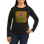 XO Women's Long Sleeve Dark T-Shirt