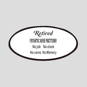 Retired Psychiatric Nurse Practitioner Patch