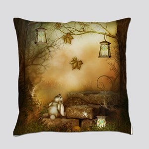 Fairytale Forest Everyday Pillow