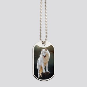 Arctic wolf Dog Tags
