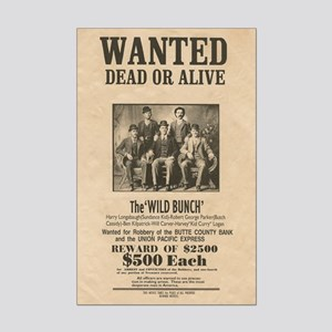 Wild Bunch Old West Wanted Poster Print