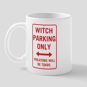 Witch Parking Mug