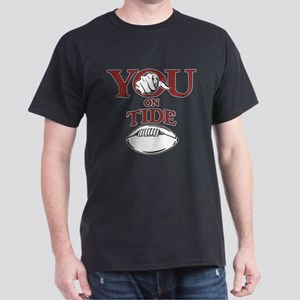 YOU on Tide Football Dark T-Shirt