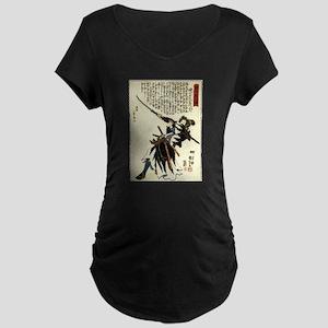 Samurai Masahisa Maternity Dark T-Shirt