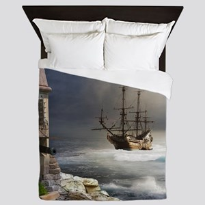 Pirate Bay Queen Duvet
