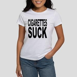 Cigarettes Suck Women's T-Shirt