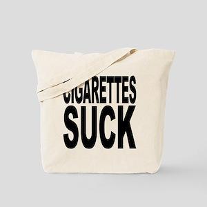 Cigarettes Suck Tote Bag