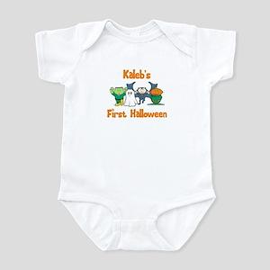 Kaleb's First Halloween Infant Bodysuit