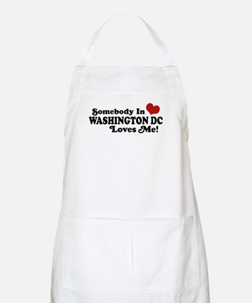 Somebody In Washington DC BBQ Apron