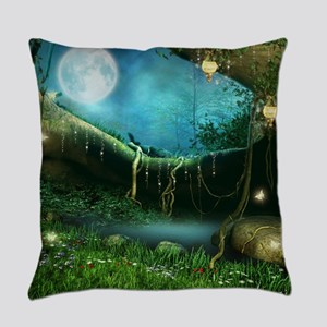 Enchanted Forest Everyday Pillow