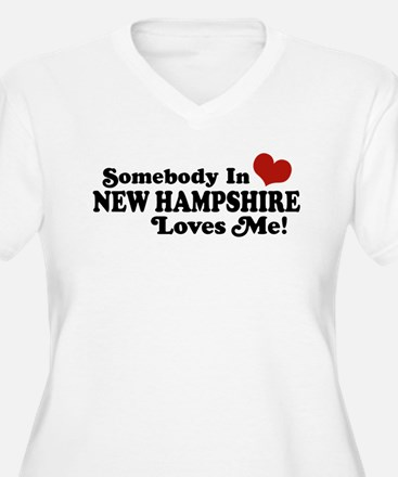 Somebody In New Hampshire Loves Me T-Shirt