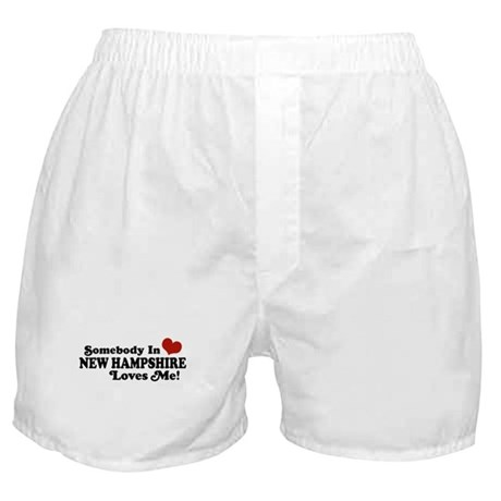 Somebody In New Hampshire Loves Me Boxer Shorts