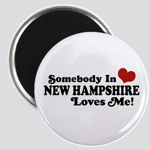 Somebody In New Hampshire Loves Me Magnet