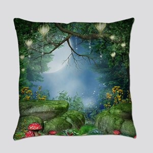 Enchanted Summer Night Everyday Pillow