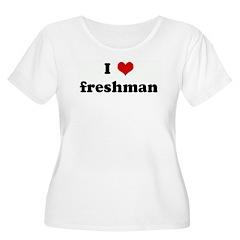 I Love freshman T-Shirt