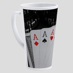 4 Aces 17 oz Latte Mug