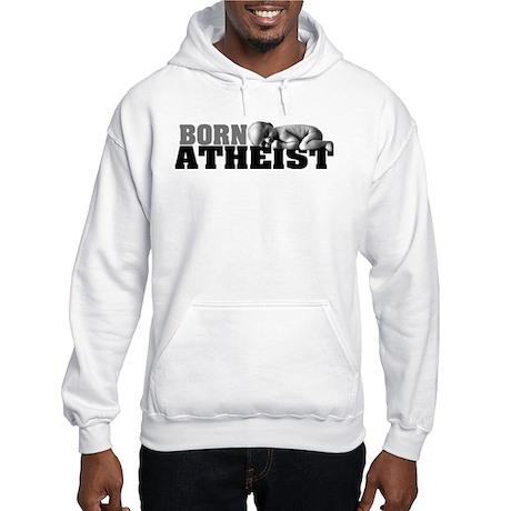 Born Atheist Baby Hooded Sweatshirt