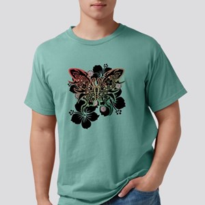 Hibiscus and butterfly T-Shirt