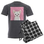 Chihuahua Men's Charcoal Pajamas