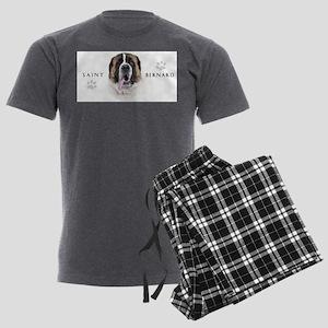 portrait5 Men's Charcoal Pajamas