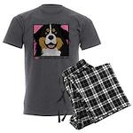 vector Men's Charcoal Pajamas