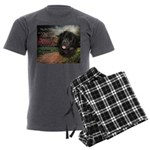 godmadedogs Men's Charcoal Pajamas