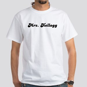 Mrs. Kellogg White T-Shirt