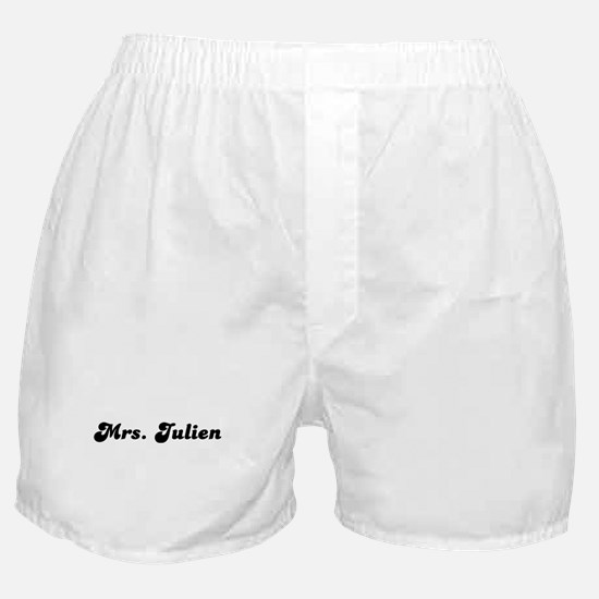 Mrs. Julien Boxer Shorts