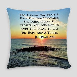 MATTHEW 19:26 Everyday Pillow