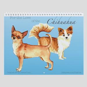 Chihuahua Wall Calendar