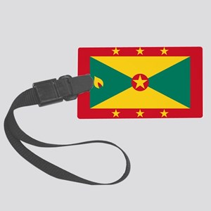 Flag Of Grenada Large Luggage Tag